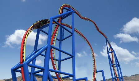Neuer Thrill-Coaster ab Juli 2014 im Holiday Park.